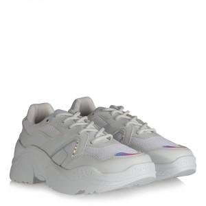 Beyaz Bayan Spor Ayakkabı