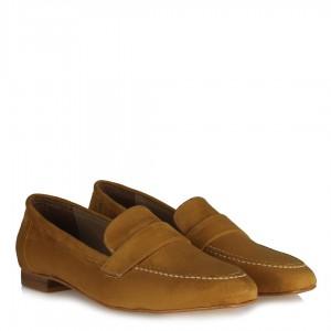 Loafer Hardal Süet Düz Ayakkabı