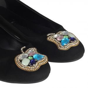 Babet Ayakkabı Elma Taşlı Tokalı