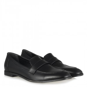 Loafer Düz Ayakkabı Siyah Model