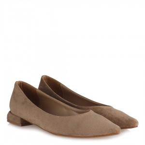 Vizon Süet Babet Ayakkabı