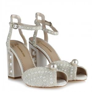 Gelin Ayakkabısı İncili Ayakkabı