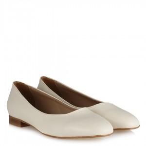 Krem Rengi Babet Ayakkabı
