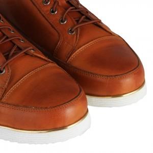 Taba Hakiki Deri Bağcıklı Ayakkabı
