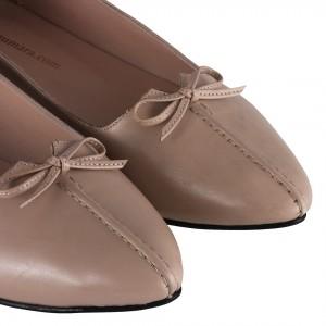 Ten Hakiki Deri Fiyonklu Babet Ayakkabı