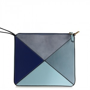 Tasarım Çanta Mavi Tonlar