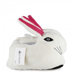 Panduf Terlik Bayan Beyaz Tavşan