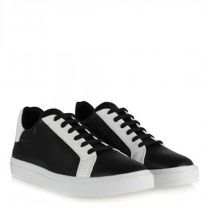 Spor Ayakkabı Siyah Beyaz