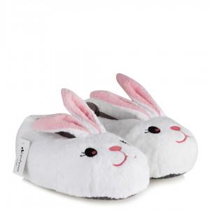 Panduf Beyaz Tavşan Bayan Ev Patiği