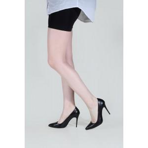Yüksek Stiletto Siyah Mat