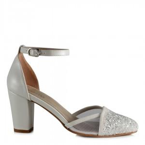 Nikah Ayakkabısı Kemerli Model