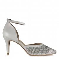 Stiletto Gelin Ayakkabısı Kemerli