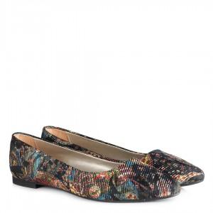 Renkli Babet Ayakkabı Sivri Model
