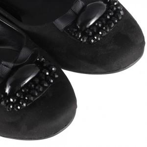 Siyah Tokalı Günlük Babet