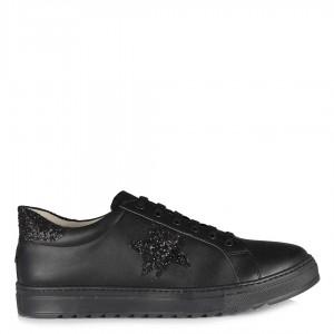 Sneakers Ayakkabı Bağcıklı Siyah