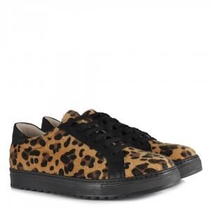 Sneakers Spor Ayakkabı Leopar Desenli