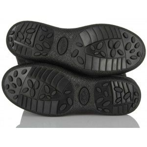Siyah İçi Yünlü Kar Çizmesi