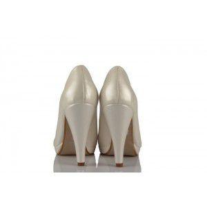 Sedef Deri 15 Pont Gelinlik Ayakkabı