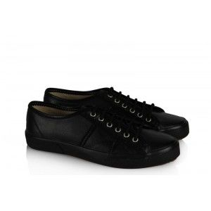 Vans Ayakkabı Siyah Deri