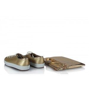 Vans Ayakkabı Dore  Clutch Çanta Takım