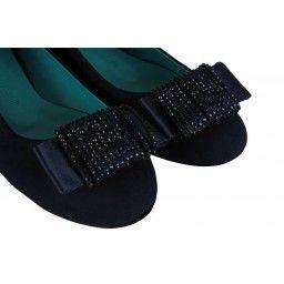 Babet Ayakkabı Lacivert Şık Toka