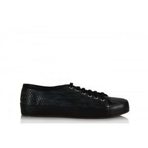 Vans Ayakkabı Lacivert Siyah Damla Deri