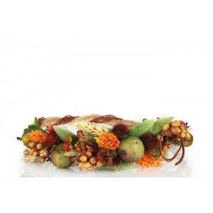 Gelin Tacı  Damat Yaka Çiçeği Turuncu Bohem