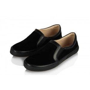 Vans Ayakkabı Siyah Süet
