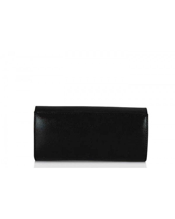 Portföy Çanta Siyah Cam Kırığı Şeritli