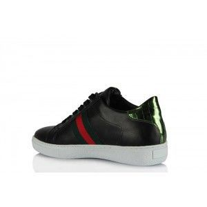 Spor Ayakkabı Siyah Tasarım Model