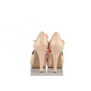 Düğün Ayakkabısı 17 Pont Pudra