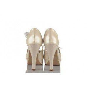 Gelinlik Ayakkabı 17 Pont Kurdeleli