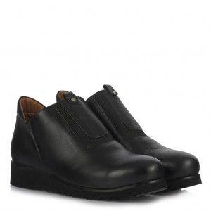 Kısa Bot Ayakkabı Hakiki Deri