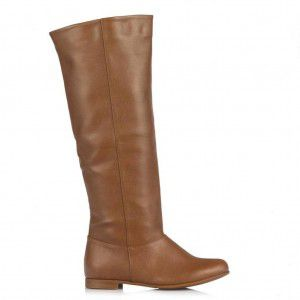 Taba Renk Bayan Çizme Modelleri