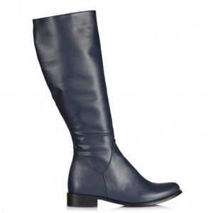 Lacivert Düz Çizme Modelleri