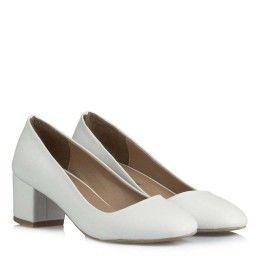 Nikah Ayakkabı Kalın Az Topuklu