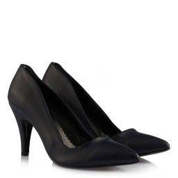 Stiletto Ayakkabı Lacivert