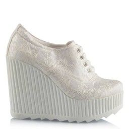 Gelin Ayakkabısı Spor Dantelli Model