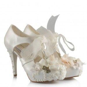 Gelin Ayakkabısı Tasarımlı