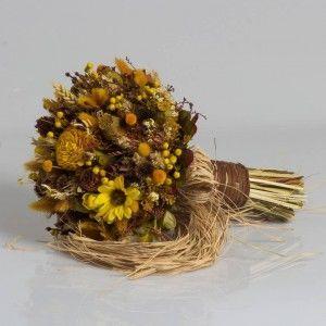 Dry Flower Biçmeli Kozalak Natural