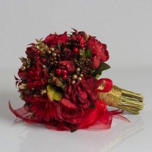 Red Boutique Bride Bouquet