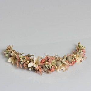Dry Flower Pudra Özel Tasarım Taç