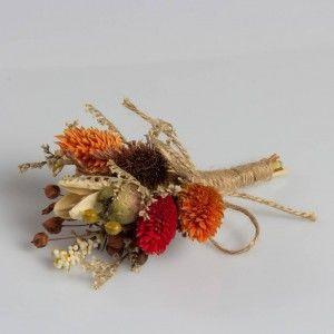 Dry Flower Damat Yaka Çiçek