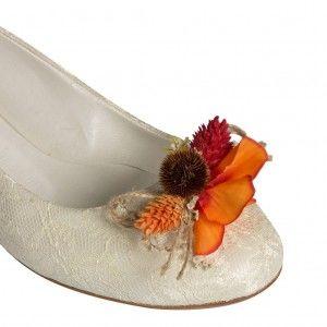 Gelinlik Babeti Tropikal Kuru Çiçekler