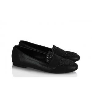 Babet Ayakkabı Modelleri Siyah Simli