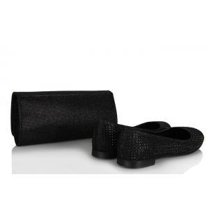 Babet Siyah Taşlı  Portföy Çanta Takım