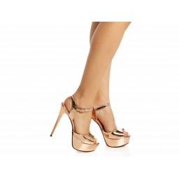 Bakır Abiye Ayakkabı Yazlık Model