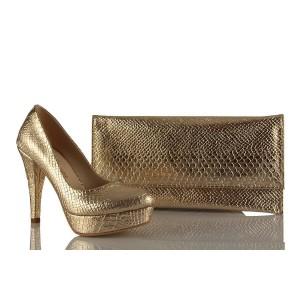 Bayan Abiye Çanta Ayakkabı Takım