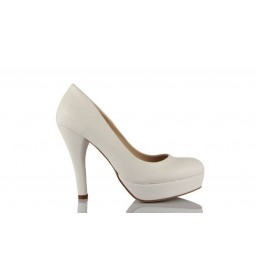 Кожаная Свадебная Обувь Цвет Белый 17 Понт