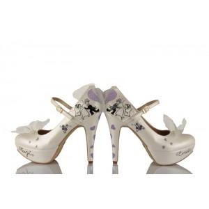Dans Eden Gelin Damat Tasarım Gelinlik Ayakkabısı